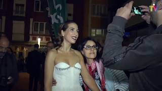 Alfombra naranja de 'Tiempos de guerra' (Antena 3) FesTVal Vitoria 2017