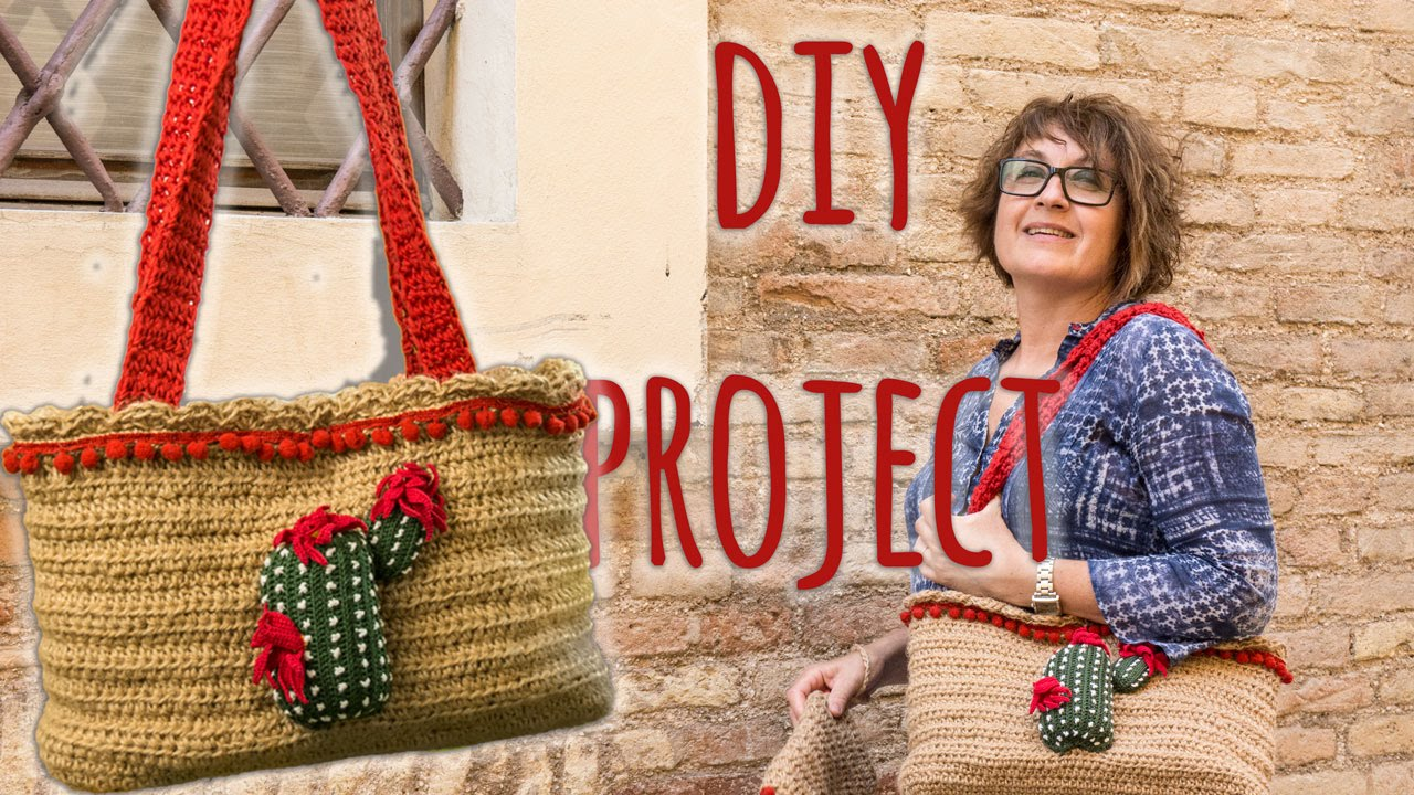 informazioni per 89b8b 514bb Borsa in juta DIY tutorial