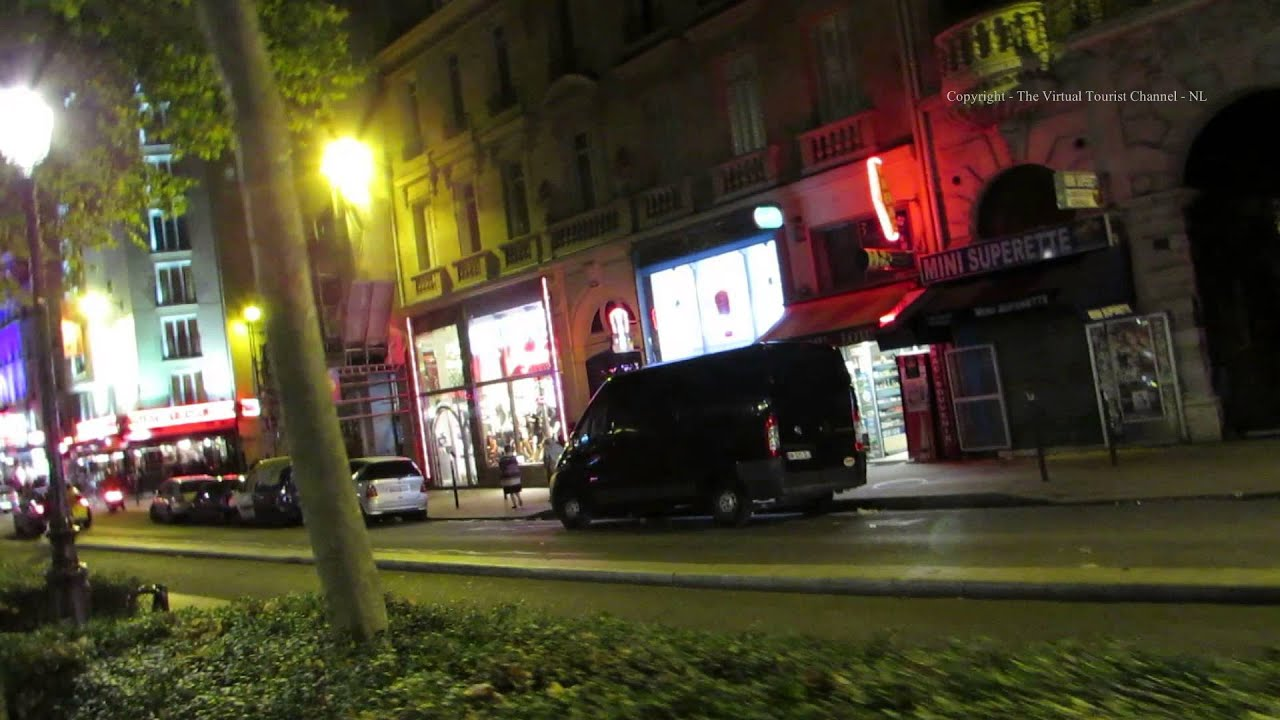 Walk from Pigalle Metro Station along the Boulevard de Clichy to the ...