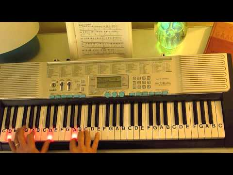 How to Play ~ Here I Am to Worship - Key of G ~ Hillsong United ...