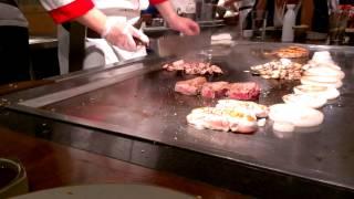 Steak a La Tokyo .. Hibachi Master Chef