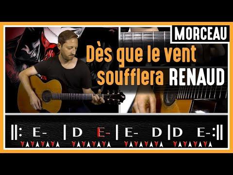 Cours de Guitare : Apprendre Dès que le Vent Soufflera de Renaud