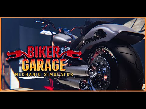 Biker Garage: Mechanic Simulator - Real Gameplay Announcement Trailer