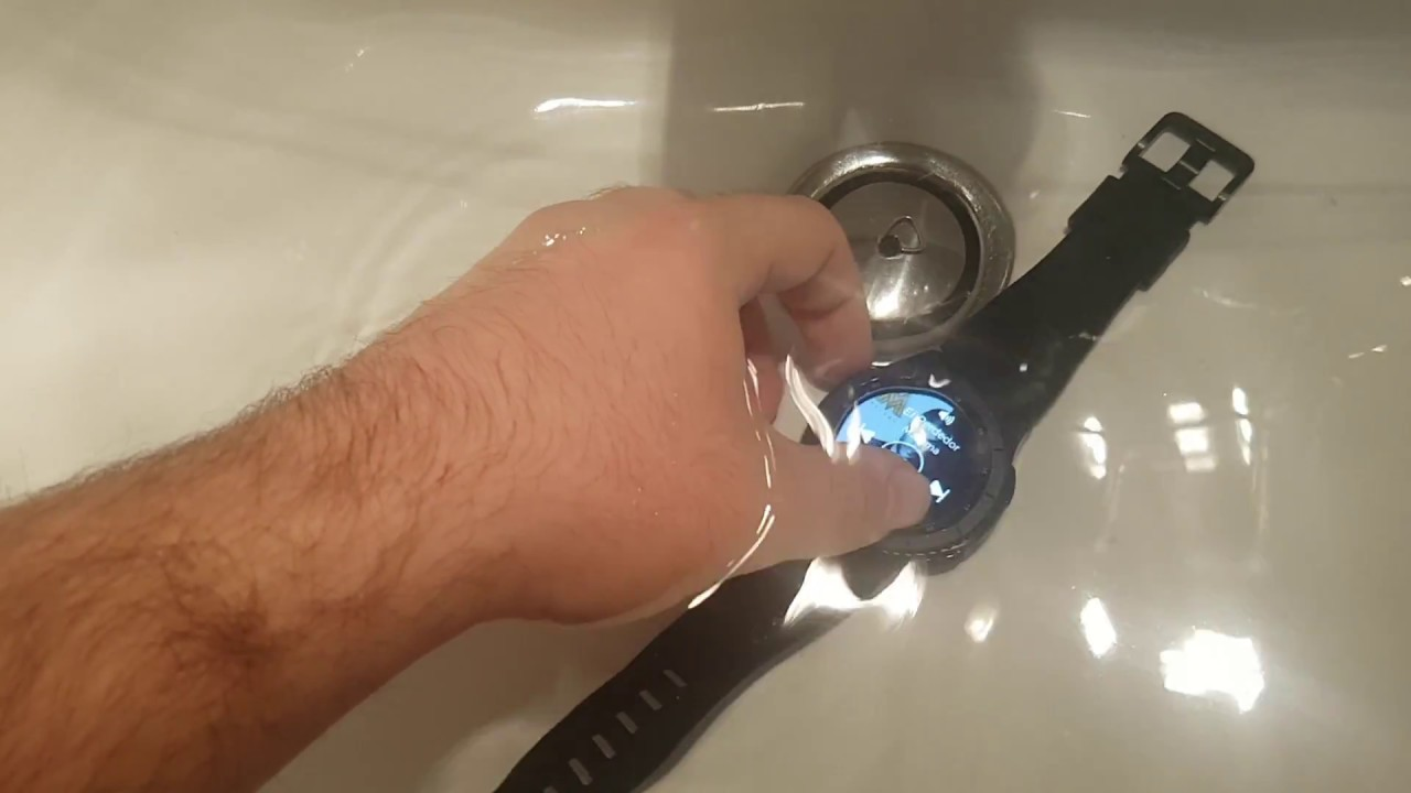 online store 158cf 9574e SAMSUNG GEAR S3 FRONTIER WATER TEST (SPEAKER KEEPS WORKING UNDERWATER!)