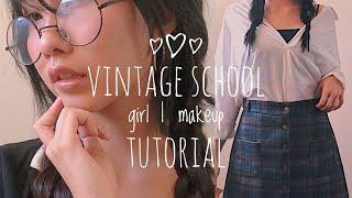 Vintage Schoolgirl | Makeup Tutorial