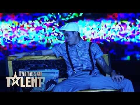 Thant Zaw YGND: Semi-Final 5 | Myanmar's Got Talent 2018
