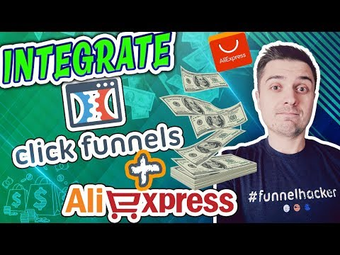 How To Integrate ClickFunnels With Aliexpress Dropshipping Orders - LOW COST! [Ecommerce]