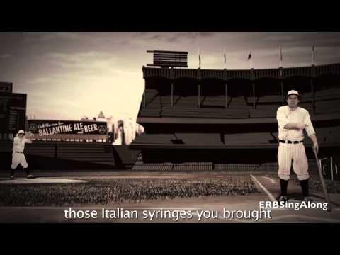 KARAOKE Babe Ruth vs Lance Armstrong ERB 31