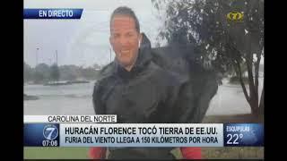 Huracán Florence causa estragos en Estados Unidos
