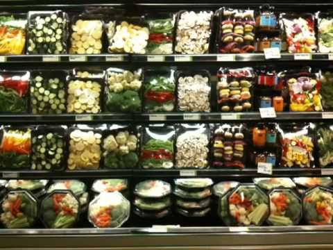 Pre-cut Vegetables at Whole Foods