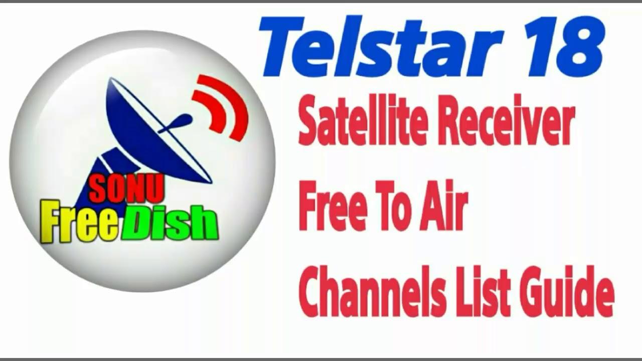 Telstar 18 138 East Satellite Receiver Channels List Guide by Sonu