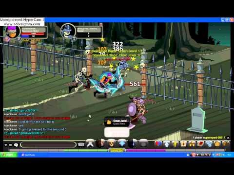 "AQW  ""Bejeweled Blade"" quest"
