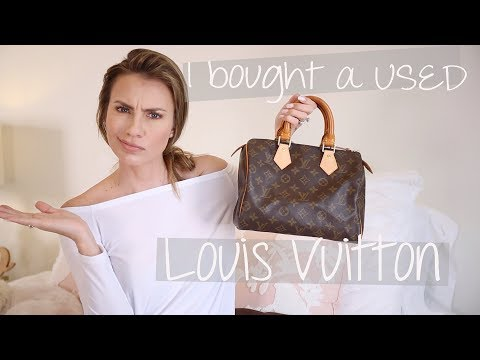 274f59c1 How to Buy a USED/Pre-owned Louis Vuitton | Speedy 25 LV Store ...