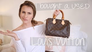 How to Buy a USED/Pre-owned Louis Vuitton | Speedy 25 LV Store Repair Experience