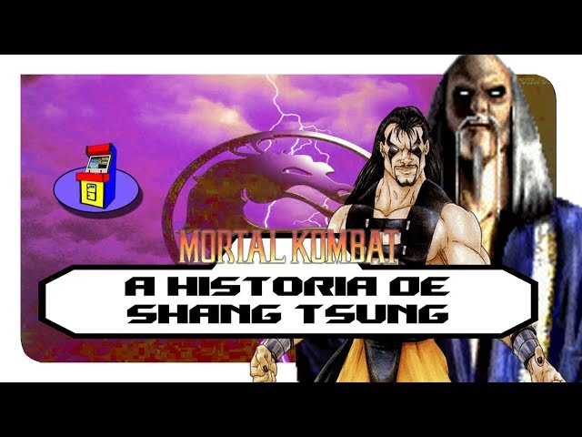 """A HISTÃ""""RIA DE SHANG TSUNG E A ORIGEM DO MORTAL KOMBAT"""