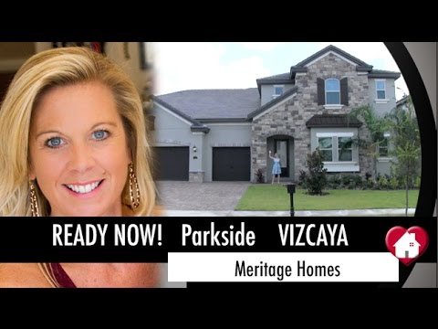 New Homes Dr Phillips Florida-  Vizcaya Inventory Home by Meritage at Parkside