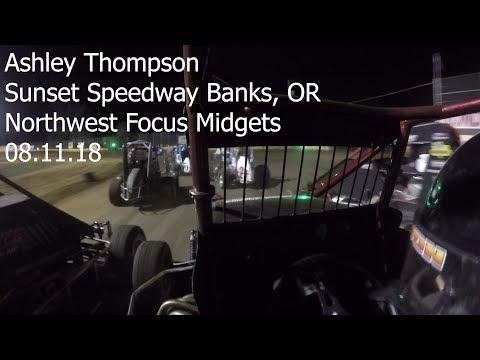 Ashley Thompson at Sunset Speedway 08.11.18
