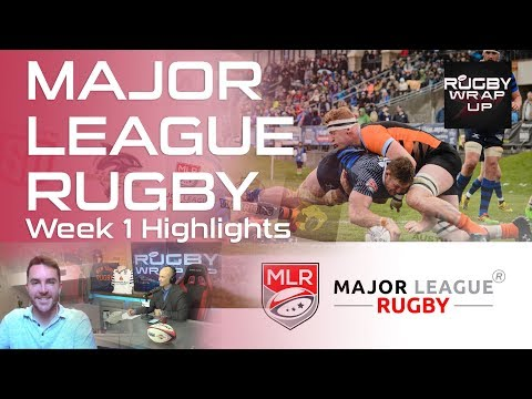 Major League Rugby Highlights Ep. 1 | RUGBY WRAP UP