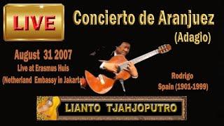 Lianto Tjahjoputro-Concierto de Aranjuez for solo guitar-Rodrigo