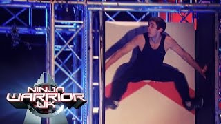 Can Teige beat Toby's time? | Ninja Warrior UK