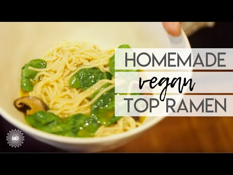 Homemade VEGAN Top Ramen (Big Island Life Pt. XVI)