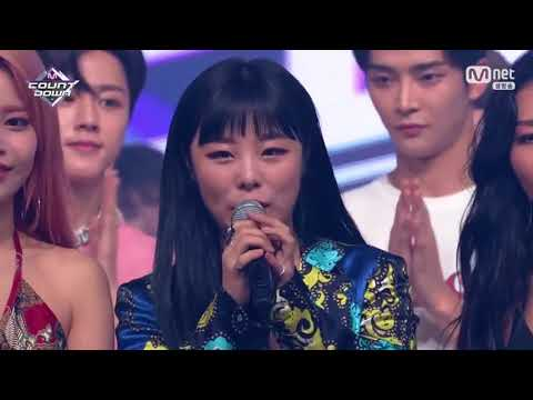 Mamamoo Encore Stage M Countdown (8/2/2018)