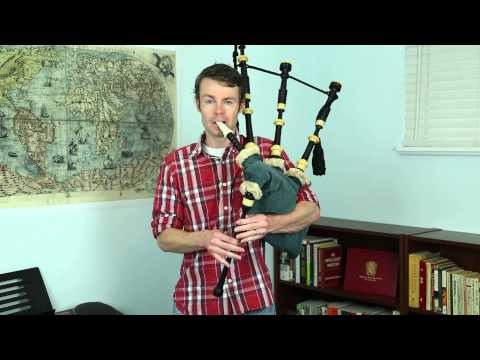 Bagpipe Master: The Gael from the Last of the Mohicans on the bagpipes
