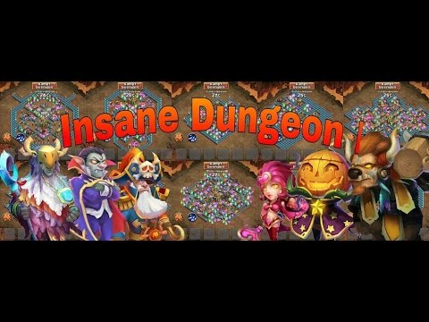 CC #2 Insane Dungeon I By Hunted - Castle Clash Taiwan Server