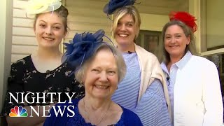 Excited Americans Travel To U.K. For Royal Wedding | NBC Nightly News