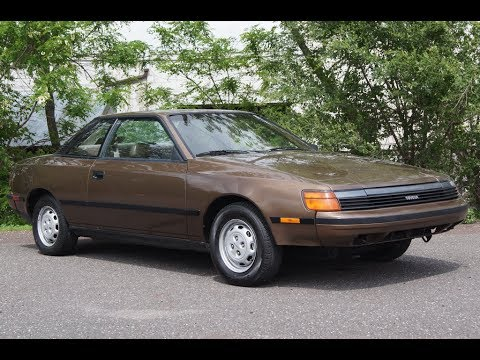 1988 Toyota Celica ST 5-Speed Manual 3S-FE Brown