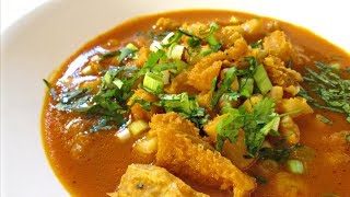 Menudo - Authentic Hominy and Beef Tripe Soup Recipe