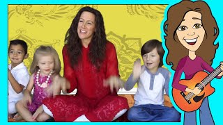 Shake and Move Children s song Body Parts Patty Shukla