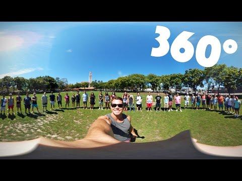 360° WATER BALLOON FIGHT