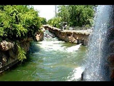 Six Flags Over Texas - Roaring Rapids Ride - Tourism USA - Arlington Texas