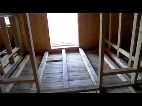Технология строительства вертикальный брус