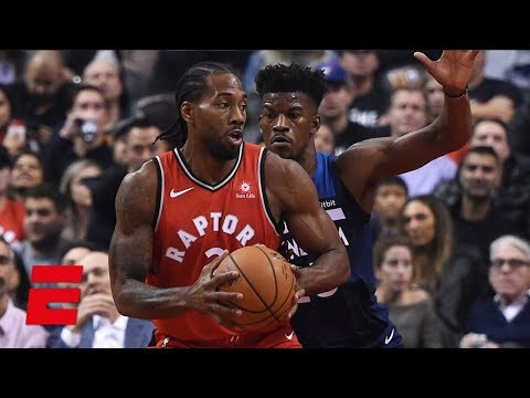 Kawhi Leonard's 35 points and amazing steal lead Raptors to win vs. Timberwolves | NBA Highlights