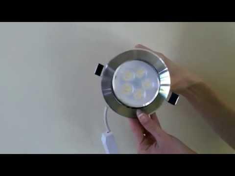 LED Спот Луни за Вграждане 5W