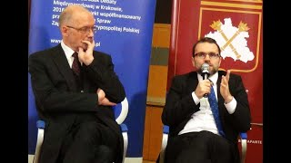 Debata: dr Jacek Bartosiak, prof  Andrzej Nowak  Polska wobec Europy i świata