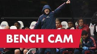 BENCH CAM | Newcastle Utd 0-1 Arsenal | Unai Emery, Pepe, Ceballos