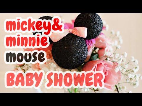 b3e25a3a3 50 Adornos para Baby Shower Tema  Mickey   Minnie Mouse y más HD - YouTube