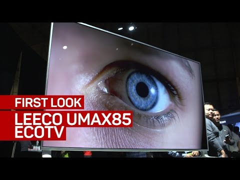 LeEco goes big in the US with 85-inch TV for $5,000