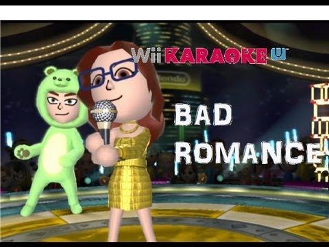 Wii Karaoke U |WiiU| Bad romance (Lady Gaga) [HD]