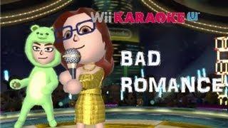 Wii Karaoke U  WiiU  Bad romance (Lady Gaga) [HD]