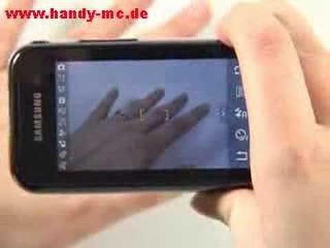 Samsung SGH F700 Qbowl Kamera