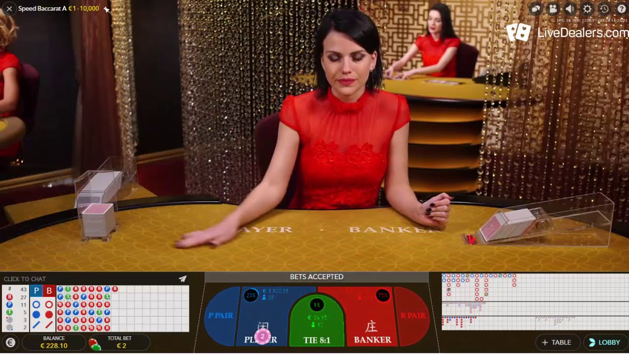 Speed Live Baccarat Review | Best Evolution Gaming Powered