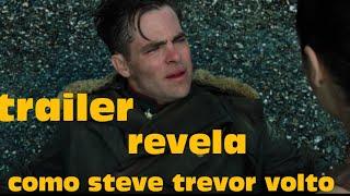 TRAILER DE MULHER MARAVILHA REVELA COMO STEVE TREVOR VOLTO #DC #MULHERMARAVILHA #LIGADAJUSTIÇA