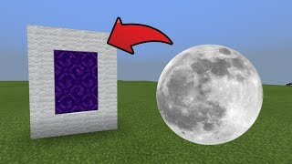 Wie man ein Portal auf den Mond Dimension in MCPE (Minecraft PE)