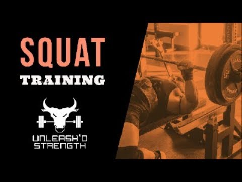 FULL POWERLIFTING SQUAT WORKOUT