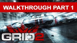 GRID 2 PC Walkthrough - Gameplay Part 1
