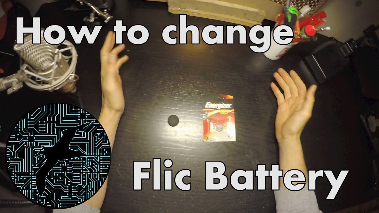 How to change the Flic battery | Bluetooth Button